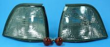 BMW E36 Coupe / Cabriolet - Black Indicator - incl orange Light bulbs Pair