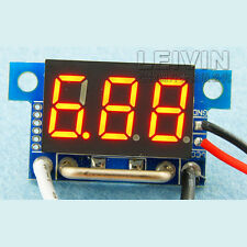 10A Digital led Ammeter/ Amp Panel Gauge Meter in shunt F/ 12v/24v Car bike R