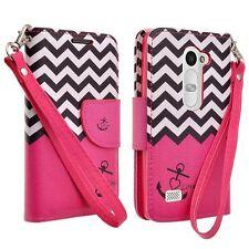 For LG Stylo 2 Plus / Stylus 2 Plus / MS550 Leather Wallet Pouch Case Flip Cover