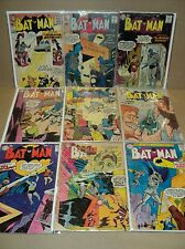 Batman 111-120 (miss.#112) SET 1957-1958 Low-Grade DC Comics (set# 4392)