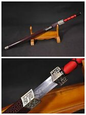 "Hand Forge Chinese Sword ""Han Jian"" Alloy Fitting Carbon Steel Hand Forge #90"