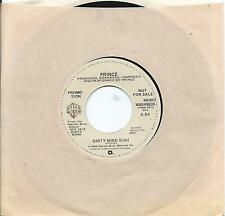 "PRINCE scarce USA DJ 7"" 45 DIRTY MIND 3:54 edit,  MONO promo 1980"