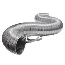 """4"""" x 96 in Bathroom Dryer Kitchen Outside Exhaust Flexible Aluminum Venting Duct"""