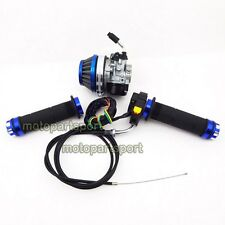 Carburetor Carb Air Filter Throttle Grips Cable Switch 50 60cc 80cc Gas Bicycle