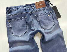 NEW SALVATORE FERRAGAMO MEN'S JEANS WITH BELT SIZE 34