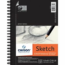 Canson 100 Sheets Quality Drawing Paper Sketch Pad Notebook Art Sketchbook Book
