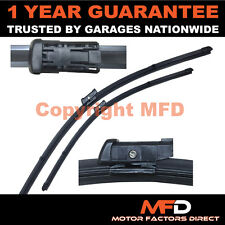 "FOR VW CADDY 2007- DIRECT FIT FRONT AERO WINDOW WIPER BLADES PAIR 24"" 18"""