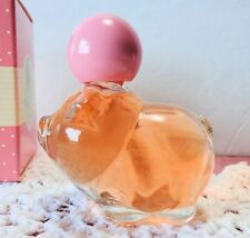 Vintage Avon Pretty Piglet Pink Decanter 0.75 oz Roses, Roses Cologne & Box Full