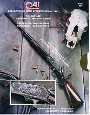 Collectable Arms International Fall 1995 Catalog of Investment Quality Firearms