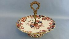Unmarked Early 19th Century Footed Compote Old Imari Pattern