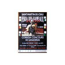 Affiche St Martin de Crau Concours Ganaderia EL SIERRO YONNET GALLON Denis LORE