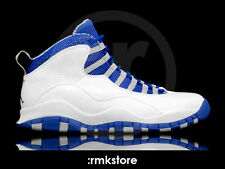 2012 Nike Air Jordan 10 X Retro TXT Royal Blue Size 13. 487214-107. 1 2 3 4 5 6