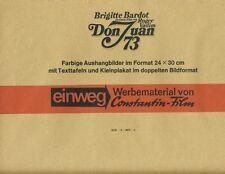 Don Juan 73 ORIG Umschlag Brigitte Bardot / Jane Birkin