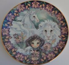 """Guardians of the Kingdom 1991 Reco Plate """"In Faith I am Free"""""""