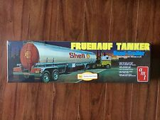 AMT 1/25 SHELL FRUEHAUF TANKER SEMI-TRAILER PLASTIC MODEL KIT 918 FACTORY SEALED