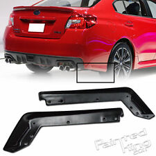 UNPAINTED FOR SUBARU WRX STI 4TH SEDAN REAR BODY KIT LIP SPLITTER 2016