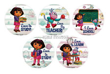 15 Dora the Explorer Motivational Stickers Kid Teacher Student Reward Supply
