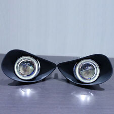 Superb COB CCFL Angel Eyes Halo Foglights Projector Lens For Toyota Yaris 07-09