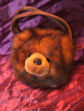 THE BEARINGTON COLLECTION BROWN BEAR CHILDS BAG 10""