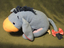 "EEYORE Baby Rattle Fisher Price Pooh and Friends 2001"" Plush Stuffed Animal 10"""