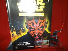 STAR WARS FIGURINE COLLECTION ISSUE 5 DARTH MAUL WITH MAGAZINE VERY GOOD/LOOSE