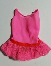 Vintage 1970 BARBIE TNT P.J. DOLL #1118 Pink Tricot Bathing Suit Swimsuit