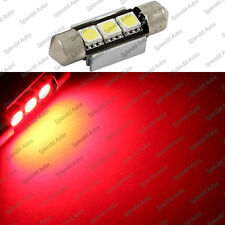 Brilliant Red 3-SMD 6418 C5W Error Free LED Bulbs For European Cars (1 Piece)