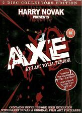 AXE - AT LAST TOTAL TERROR - BRAND NEW 2 DVD SET - FREE UK POST