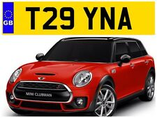 T29 YNA CHRISSY CHRISTINA TINA TINAS TIN CHRISTINAS PRIVATE NUMBER PLATE TEENAS