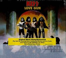KISS - LOVE GUN - 2CD DELUXE EDITION NEW SEALED 2014