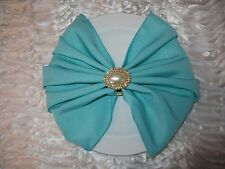 100 SPA TIFFANY BLUE WEDDING CATERING RESTAURANT POLYESTER NAPKINS 20 X 20