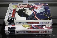 Fullmetal Alchemist Seasons 1 & 2 Ep. 1-51 Complete Anime DVD Bundle R1