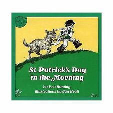 St. Patrick's Day in the Morning by Jan Brett and Eve Bunting (1983, Paperback)