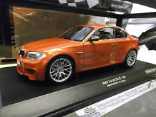 BMW 1er M1 1 M Coupe E82 valencia orange met 2011 Minichamps Diecast SP 1:18
