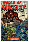 WORLD OF FANTASY #18 4.0 CREAM PAGES SILVER AGE
