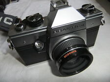 Camera PRAKTICA with SUNAGOR 2X TELECONVERTER lens EXCEPTIONAL BODY .. V7