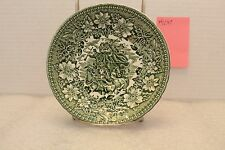 "5 3/4"" Saucer Green Coaching Taverns 1828 Royal Tudor Ware Staffordshire England"
