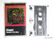 SLAYER Seasons In The Abyss CASSETTE TAPE 80's Thrash Metal 1990 Def American