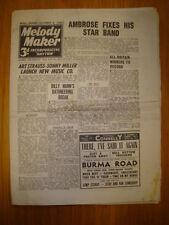 MELODY MAKER 1945 #637 JAZZ SWING MUSIC AMBROSE MUNN