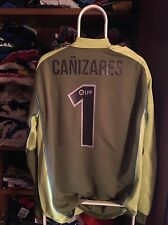 Camiseta Futbol Valencia Cf Santi Cañizares New With Tags Goalkeeper Portero