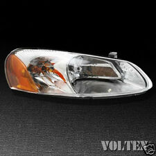 2000-2002 Toyota Echo Headlight Lamp Clear lens Halogen Driver Left Side