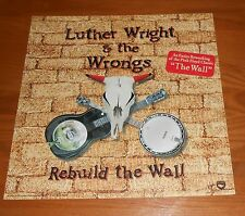 Luther Wright & The Wrongs Rebuild the Wall Poster Flat 2002 12x12 Pink Floyd