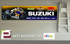 SUZUKI GSXR CORONA CHECA Garage XL banner per Officina, Garage, 600, 750, 1000