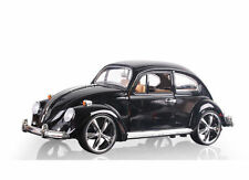 Volkswagen Beetle Superior 1967 1:18 Black Diecast Car Model
