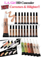 NEW! *Pick Any 3*Authentic LA L.A.Girl HD Pro Concealer, Corrector & Highlighter