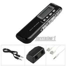 8 GB Digital SPY Audio Voice Phone Recorder Dictaphone
