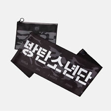 BTS : Slogan Towel, KPOP Official MD 2016, Suede, 850x220mm