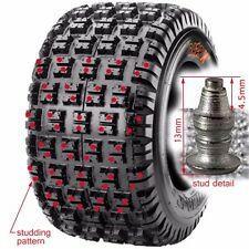 K3OFFROAD Winter MX Studded ATV tire 18x10-9 18 10 9 quad spike ice Maxxis razr
