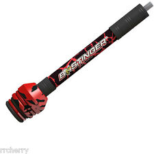 "@NEW@ B-Stinger Sport Hunter Xtreme, 8"", Red, Bee bow stabilizer"