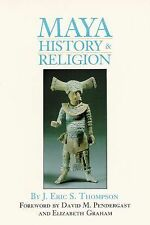 Maya History and Religion (Civilization of the American Indian Series)-ExLibrary